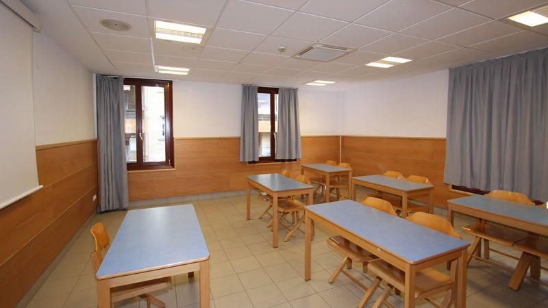 sala actividades hostel trinkete